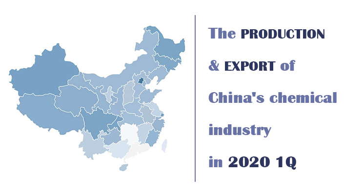 production-&-export-of-China's-chemical-industry-2020-1Q