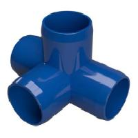PVC pipe fitting processing aid