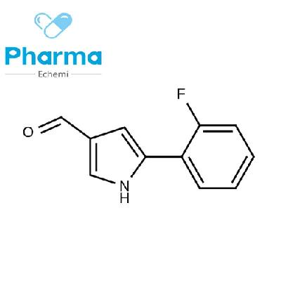 1h-Pyrrole-3-Carboxaldehyde, 5-(2-Fluorophenyl)-