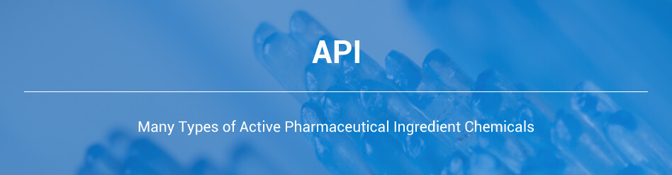 API - Active Pharmaceutical Ingredient