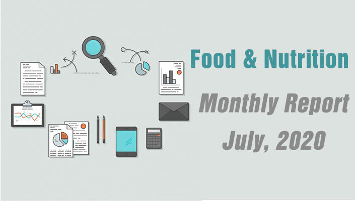monthly report food