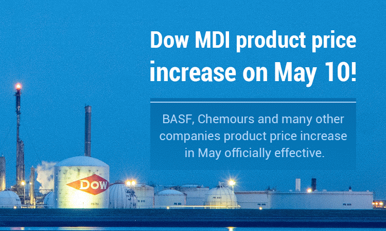 Dow-MDI-product-price-increase-on-May-10