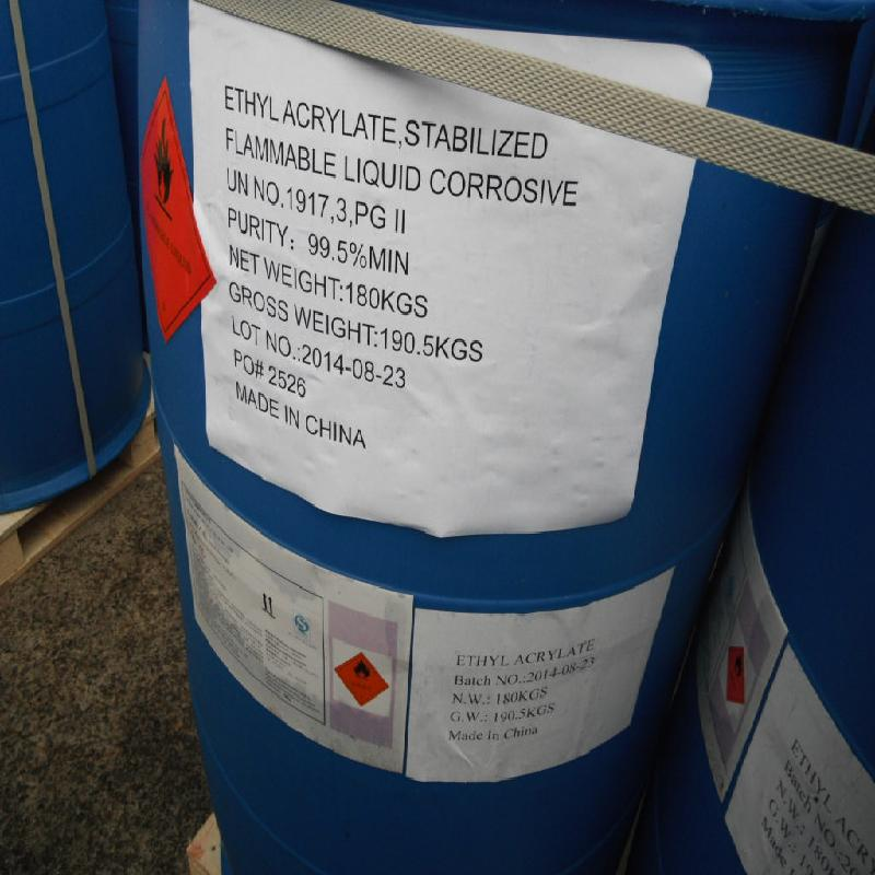 Ethylacrylate packed in HDPE Drum