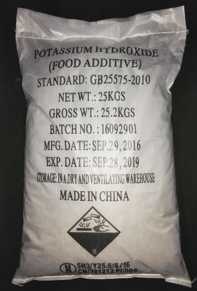 Potassium Hydroxide Industrial Grade with ISO