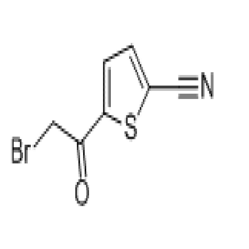 5-(bromoacetyl)thiophene-2-carbonitrile