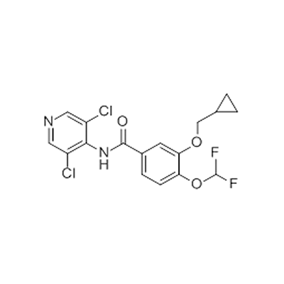 buy Benzamide,3-(cyclopropylmethoxy)-N-(3,5-dichloro-4-pyridinyl)-4-(difluoromethoxy)-