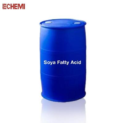 Industrial Grade Soya Fatty Acid 21MT Flexitank/180kg HDPE