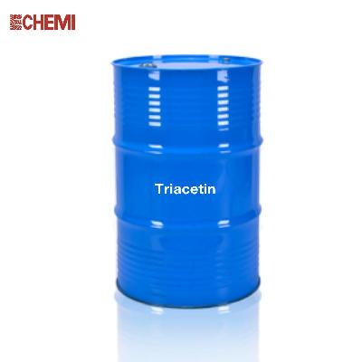 Triacetin Food Grade 240kgs Drum 1150kgs IBC Flexitank ISO TANK