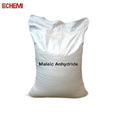 Industrial Grade Maleic Anhydride 25kgs/500kgs bag ISO TANK