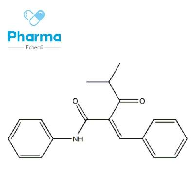 4-methyl-3-oxo-N-phenyl-2- (phenylmethylene) pentanamide