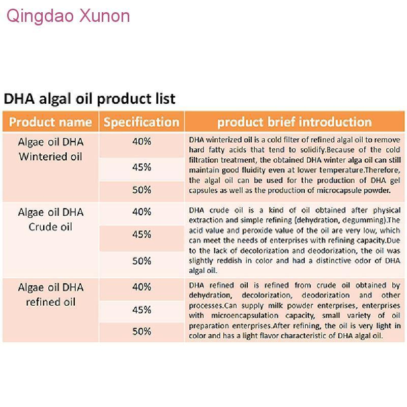 DHA OIL 50% Food Grade buy