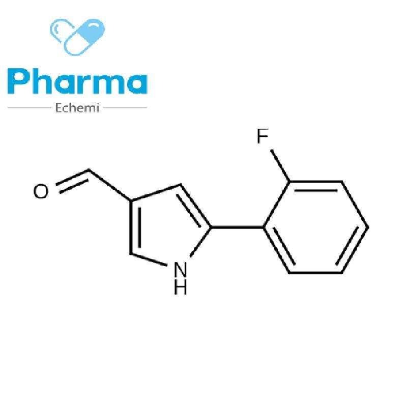 1h-Pyrrole-3-Carboxaldehyde, 5-(2-Fluorophenyl)- buy