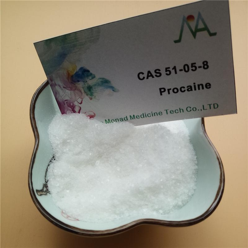Supply Procaine Hydrochloride / Procaine HCl Supplier CAS 51-05-8 for Local Anesthetic