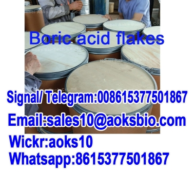 Safe Shipping CAS 11113-50-1 Boric Acid Flakes From China Supplier 99% white flakes 11113-50-1