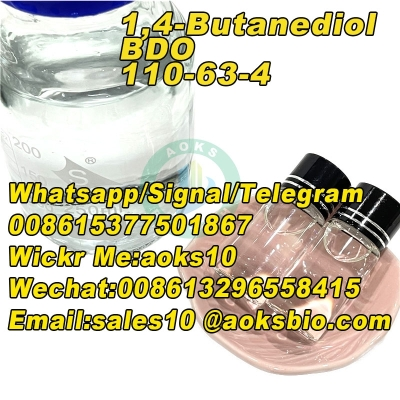 Top quality 1,4-Butanediol cas 110-63-4 with large stock and competitive price