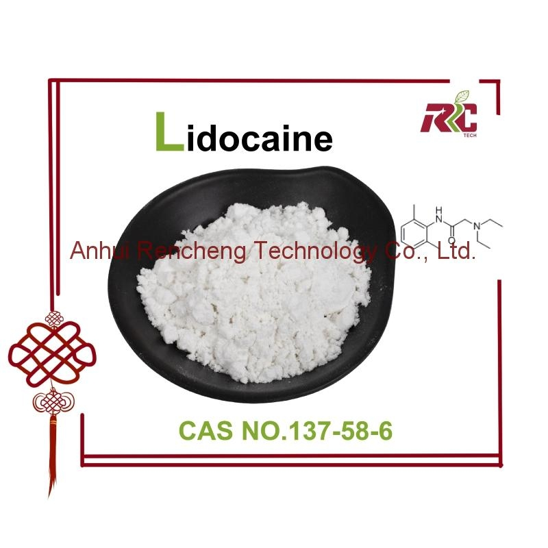 Lidocaine   99% white crystal powder CAS number 5086-74-8 RC