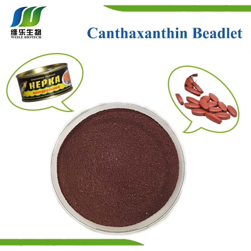 Canthaxanthin  10% violet-brown Beadlet weile