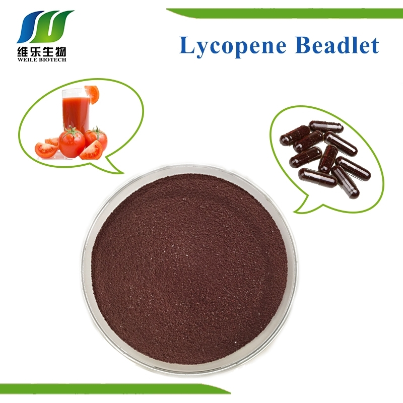Lycopene  10% red or red-brown Beadlet weile