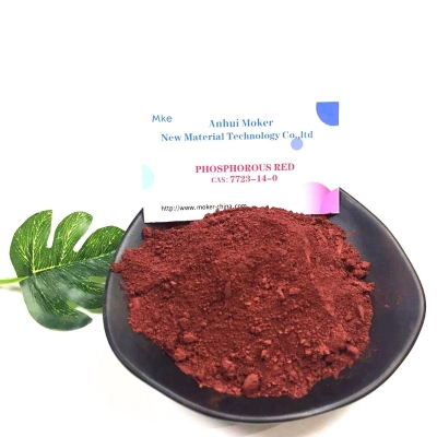 buy Pure Amorphous Powder CAS 7723-14-0 Red Phosphorus for Raw Material