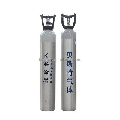 buy Factory Welding Chinese Manufacture Cylinder High Purity Pure Argon Gas 99.999% colorless argon gas OEM