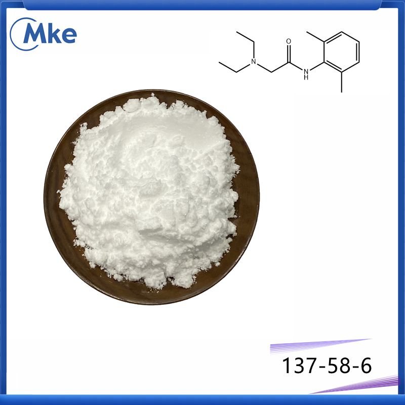 Chinese top supplier lidocaine cas 137-58-6 shipped via secure line buy