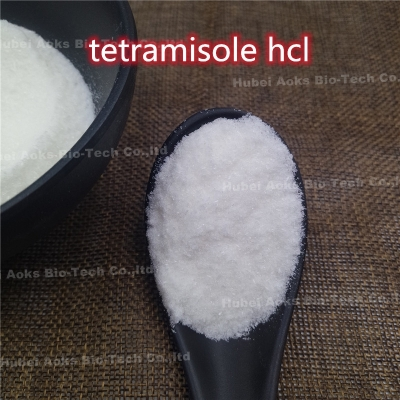99% Purity Tetramisole Hydrochloride Tetramisole HCl 5086-74-8 for Antiparasitic Drug 99% white powder 5086-74-8 aoks
