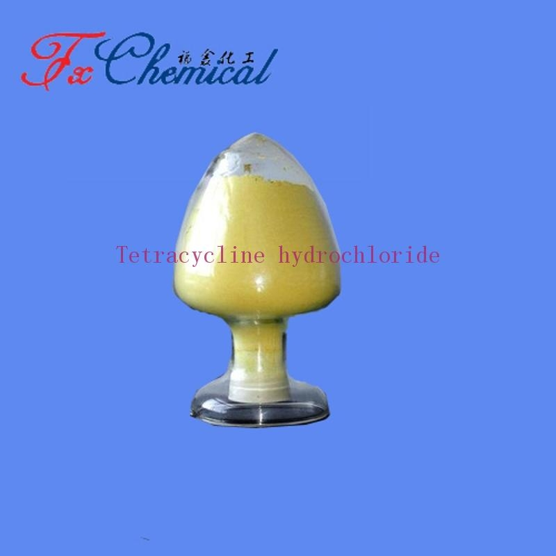 Factory supply TETRACYCLINE HCL Cas 64-75-5 with high quality low price 95% Yellow crystalline powder  Fortunachem buy